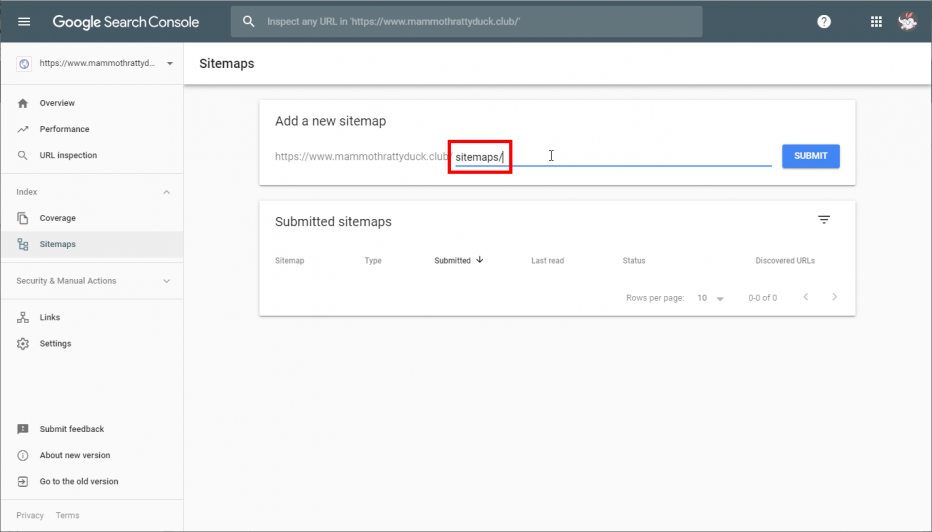 How To: Add a Sitemap to the Google Search Console – Support Center