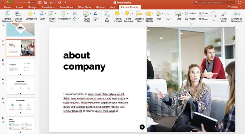 Create slide decks as webinar best practices