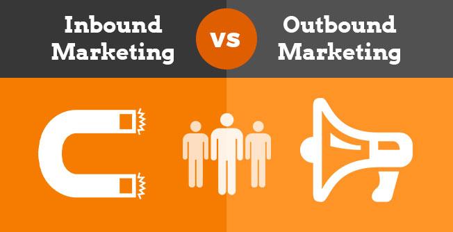 Inbound vs outbound marketing definition