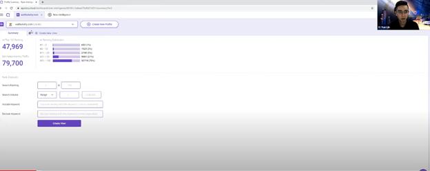 Webinar brings you authority in your nice. Image screenshot of BiQ's Webinar on Youtube