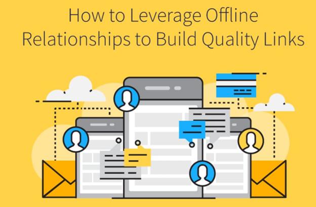 SEO tips for a new website - leverage established relationships to build links