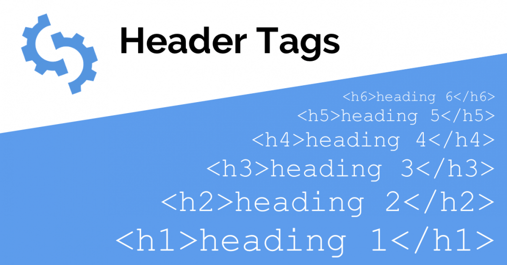 SEO tips for a new website - use heading tags